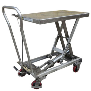 Liftmate BSL Stainless Steel Mobile Scissor Lift Tables