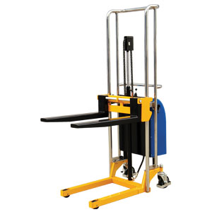 Warrior Semi Electric MiniStacker Pallet Truck 400kg