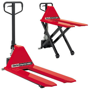 Clarke 7630180 HLPT550  1 and half T High Lift Pallet Truck