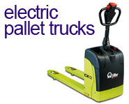 View our range of Electric Pallet Trucks
