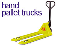 View our range of Hand Pallet Trucks