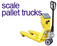View our range of Scale Pallet Trucks