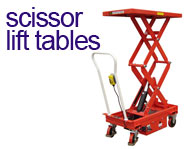 View our range of Scissor Lift Tables