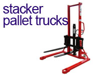 View our range of Stacker Pallet Trucks