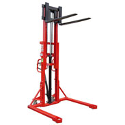 Liftmate KI Manual Pallet Stacker with Adjustable Forks