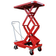 Liftmate Double Manual Scissor Lift Tables