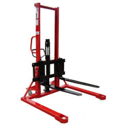 Lift Mate Hydraulic Straddle Pallet Stacker 1T