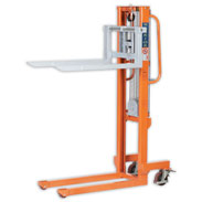 Warrior Winch Stacker Pallet Truck