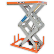 Warrior Mains Operated Static Scissor Lift Tables