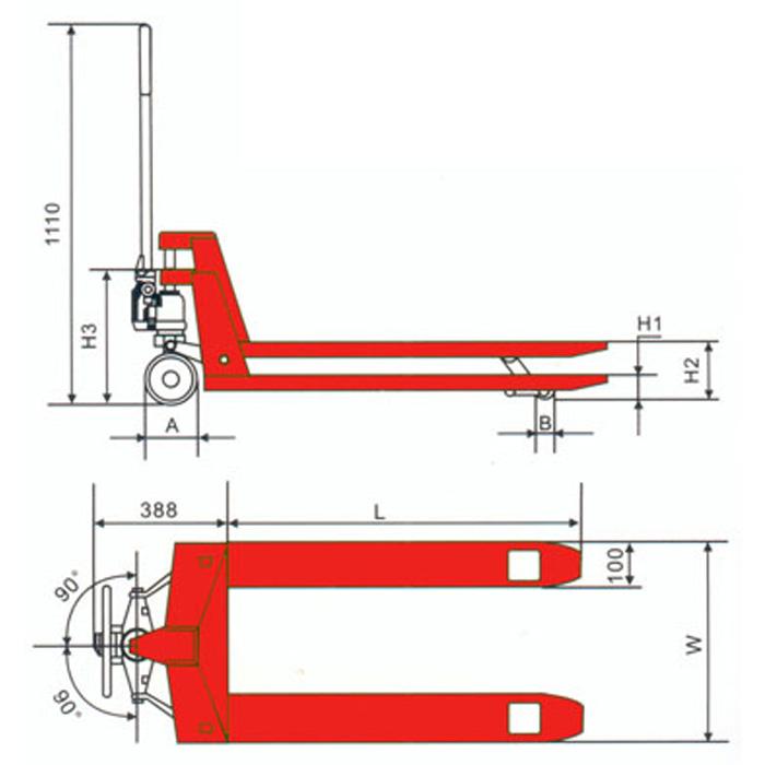 lift mate lightweight mini pallet truck 500kg pallet truck store. Black Bedroom Furniture Sets. Home Design Ideas